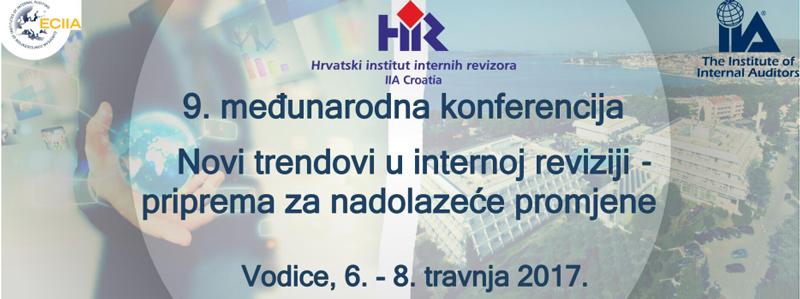 9та меѓународна Конференција на Хрватски Институт на интерни ревизори / Хрватскa